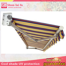 Cheap Customized Manual or Motorized Automatic Retractable Balcony Awning for Sun Shade
