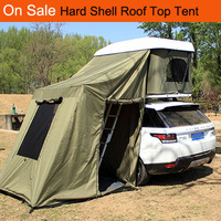 Overland ultra- light roof top tent car/camping hard shell roof top tent on sale