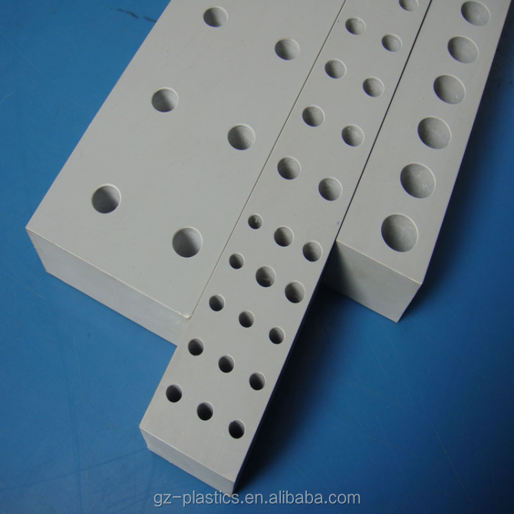 Customized Plastic Block Board Hard Cnc Machining Plastic
