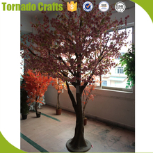 2018 Silk Artificial Indoor Japanese Cherry Blossom Trees Branch For Hotel Wedding Decor