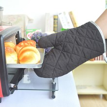 Heat- Resistant BBQ Oven Glove Mitten with Cotton Inside