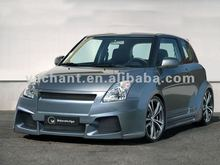 Ibher Design Suzuki Swift 2005 Karang FRP Body Kit Front Bumper Rear Bumper Side Skirt