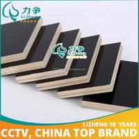 low cost 18mm thick building plywood from China manufacturer