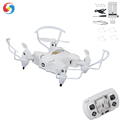 Hot! Mini RC Drone with 30P Camera WiFi Folding Quadcopter for Kids RC Helicopter with Altitude Hold 3D Flips color white gold