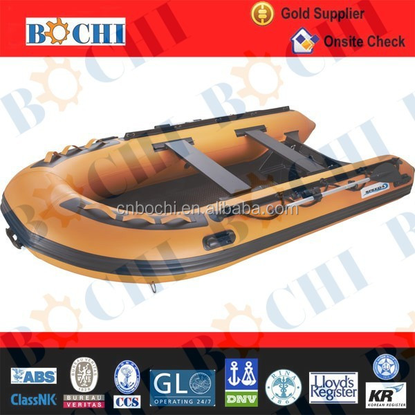 CE Certificate 0.9mm Wooden Floor Leisure Boat