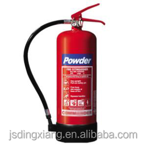 6kg dry power fire extinguisher with BSI EN3-7 certificate
