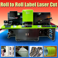 Laser Automatic Self Adhesive Sticker Cutting Machine for Label Converting