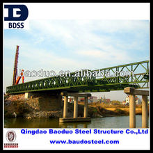 welded painted steel bridge