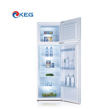 260L A+ A++ MEPS Certification Defrost Fridge Double Door OEM Refrigerator With Water Dispenser