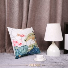 Factory Supply Attractive Price Emboridery Decorative Cushion Pillow Covers