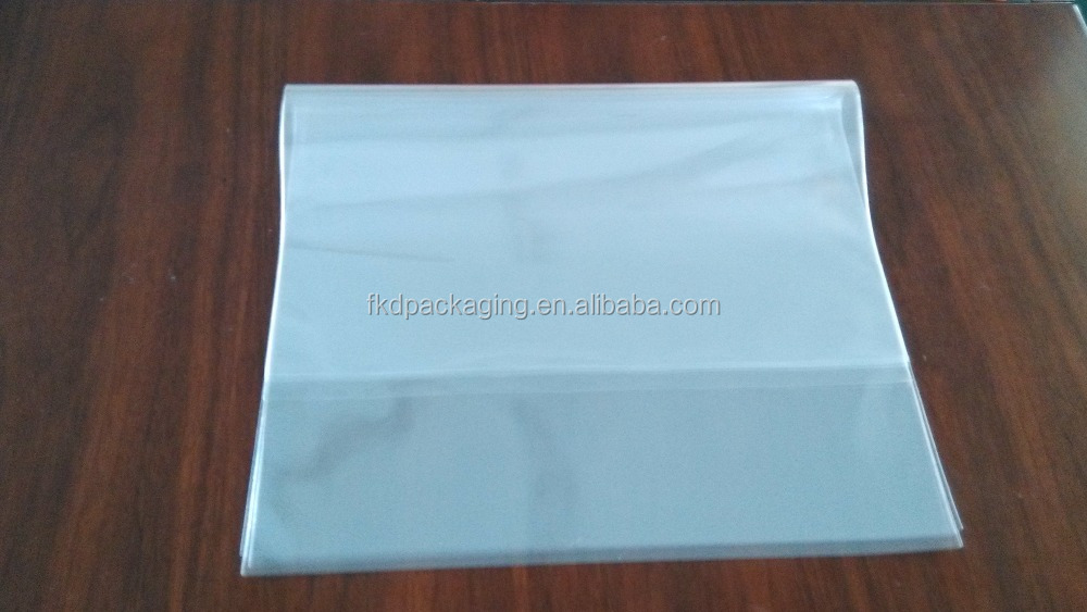 Clear OPP bag plastic package poly bag greeting card bag