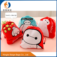 factory direct lovely cartoon travel bag/Arrange package/drawstring bags