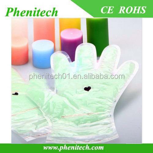 More flavour wax hand gloves / paraffin gloves spa