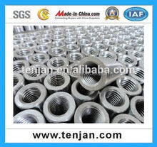 Construction Building Material 16-55mm S45C Steel Rebar mechanical Coupler