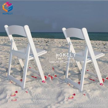 Wholesale padded wood wimbledon folding chair HLY-C15