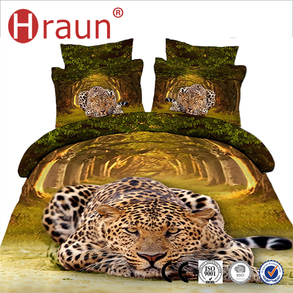Fashion Patterns Cotton Bedding Set 3d Duvet Cover
