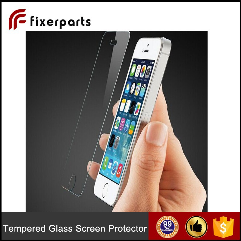 2015 New Design Tempered glass screen protector for iPhone 5/ iPhone 5C/iPhone 5S
