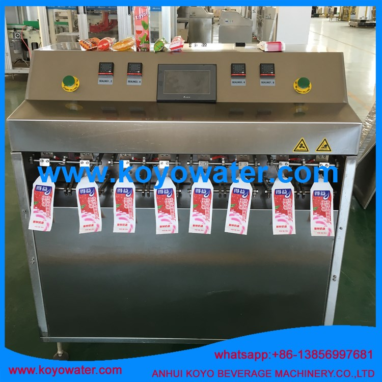 fruit juice processing line/ hot drink production line/ sachet juice filling machine