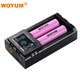 Woyum 2 slots 3.7v lithium Battery Intelligent Charger with Protection Circuit for Rechargeable 18650-26650 lithium Battery