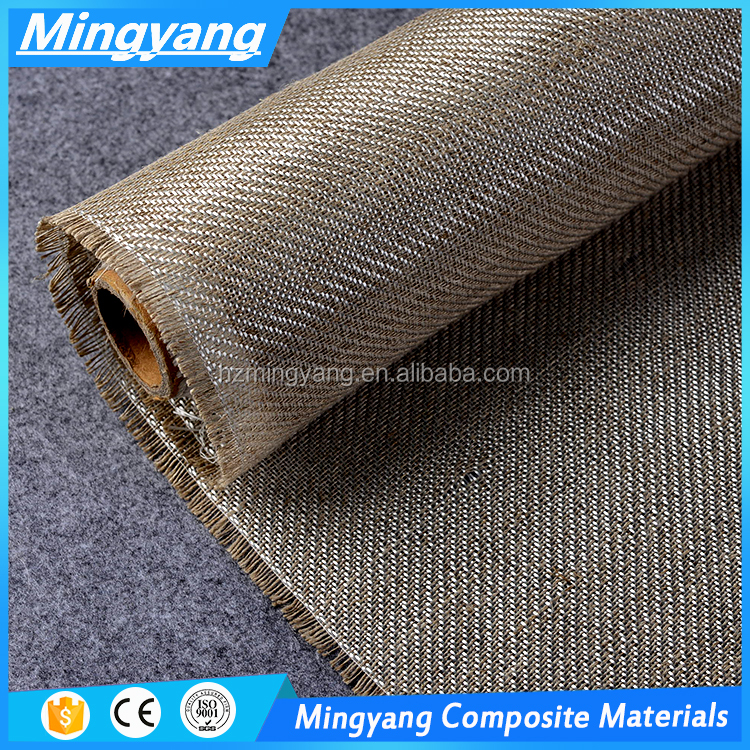 Fiberglass and Natural Fiber Hybrids Fabric