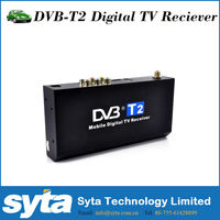 Car DVB T2 Tv Turner Mobile Digital Car DVB-T2 TV Receiver HD 1080P MPEG4 High speed for kenya Colombia Russia market