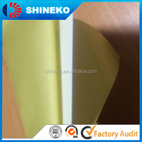 Self adhesive double-glued pvc sheets