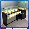 TSD-W1313 Display case lighting fixtures,jewelry store showcase manufacturer, custom wood glass jewellery counter display