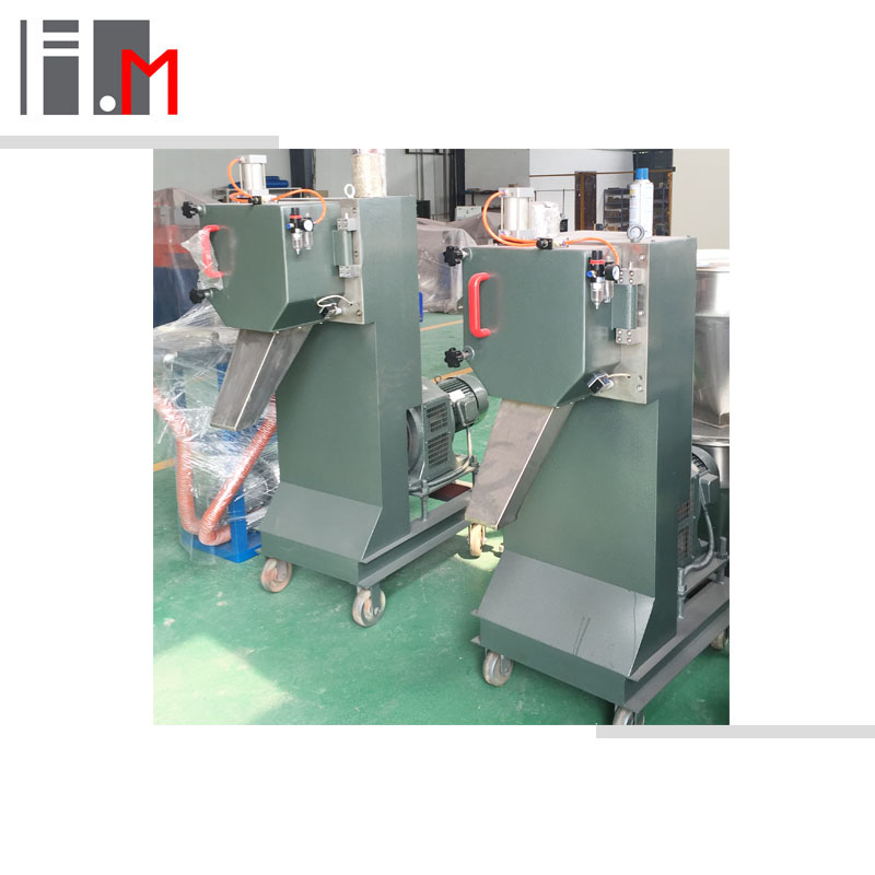 Waste plastic raw material recycling granulator