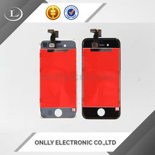 Mobile phone spare parts lcd for iphone 4s ,lcd assembly parts with ic for iphone 4s