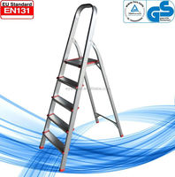 WK-AL205 5 steps high quality hot selling scaffolding ladder clamp