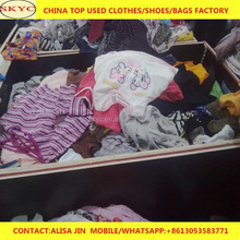 2018 Kenya second hand clothes East Africa buyers imported Dongguan summer used clothing for containers