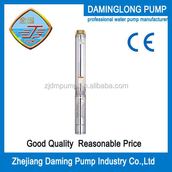 centrifugal submersible water pump 4""