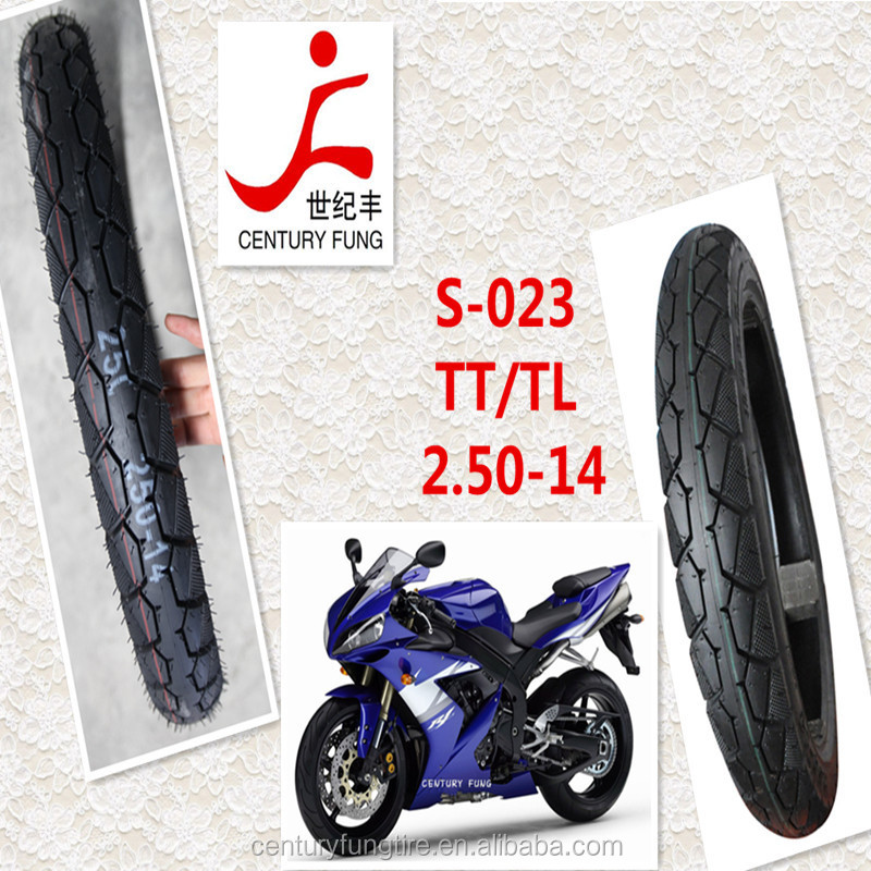 scooter tyre Motorcycle tubeless Tyre 2.50 14