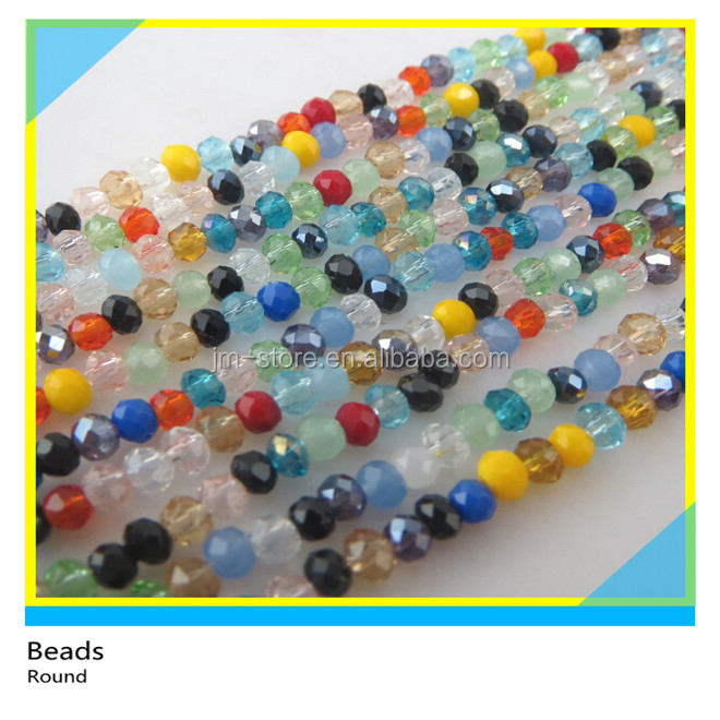 Free Sample All Kinds of Mix Color Round Beads for Jewelry Making for Women