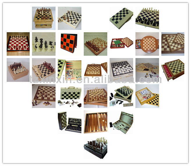 Giant Draughts Set With Draughts pieces for Garden