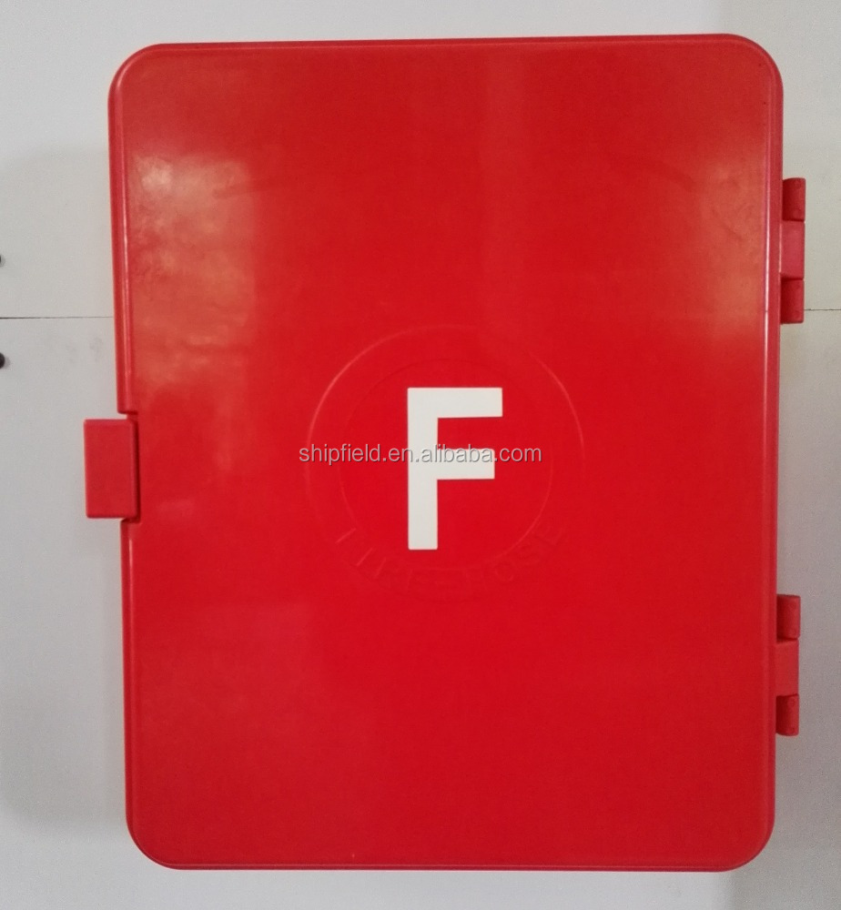 chemical resistance fire fighting hose reel cabinet for sale