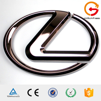diy personalized full color luxury auto logo lexus car emblem