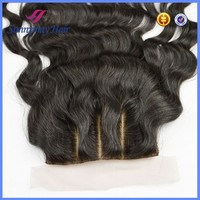Loose wave virgin peruvian hair silk base closure,cheap human hair lace closure with 3 part