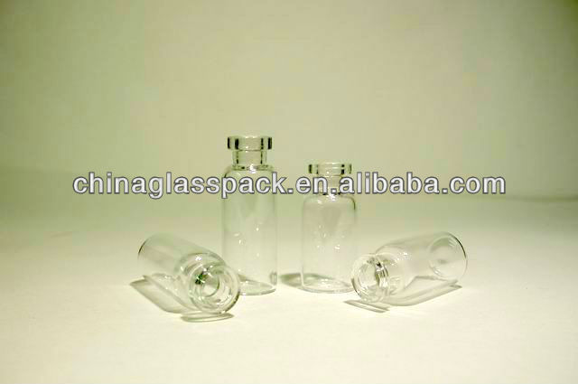Pharma vials with stopper