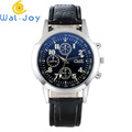 WJ-6803 Cheap Designer Leather Strap Men Wrist Watches Factory