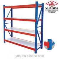 Professional Middle Duty Storage Metal Shelves, Steel Warehouse, Movable Shelf