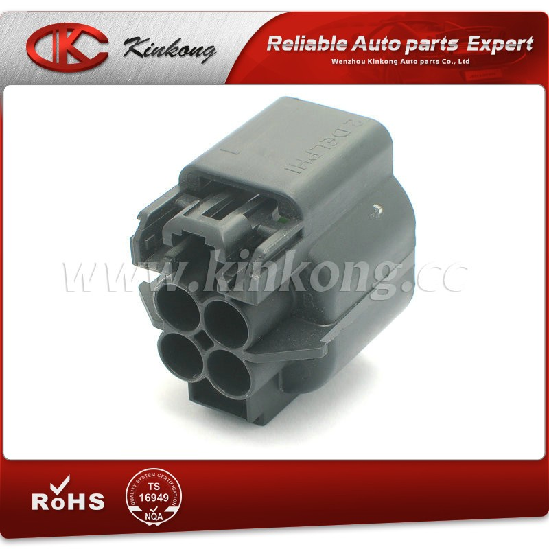 4 pin waterproof male female Delphi 12191399 auto connectors sealed electric wiring housing plugs