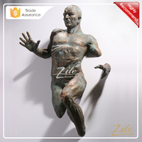 Best Replica Famous Artist Indoor Matteo Pugliese Bronze Sculpture