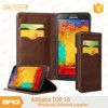 BRG Genuine Leather Card Holder For Samsung Note 5 ,Mobile Flip Cover For Samsung Cell Phone Case
