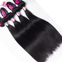 Cheap 100% Human brazilian remy straight hair passion human hair extension