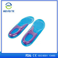 Basketball shoes ballet shoes silicone gel silicone vibrating silicone orthotic insoles