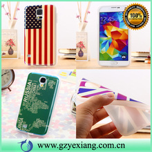 low price tpu + imd phone case for samsung galaxy s5 cheap cover case
