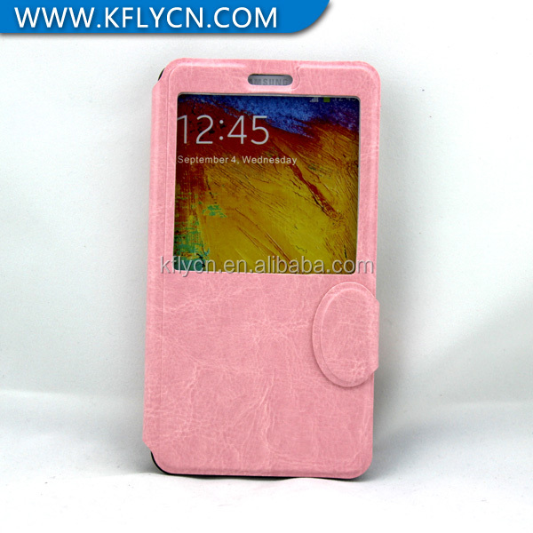 elegant style phone case leather material case cover for samsung s5