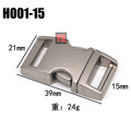 quick release buckle metal , Metal buckle decoration for clothes