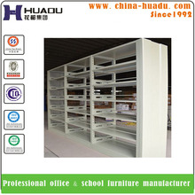 2017 High Quality Metal Book Shelf/Library Steel Combination Bookcase/colorful bookshelf